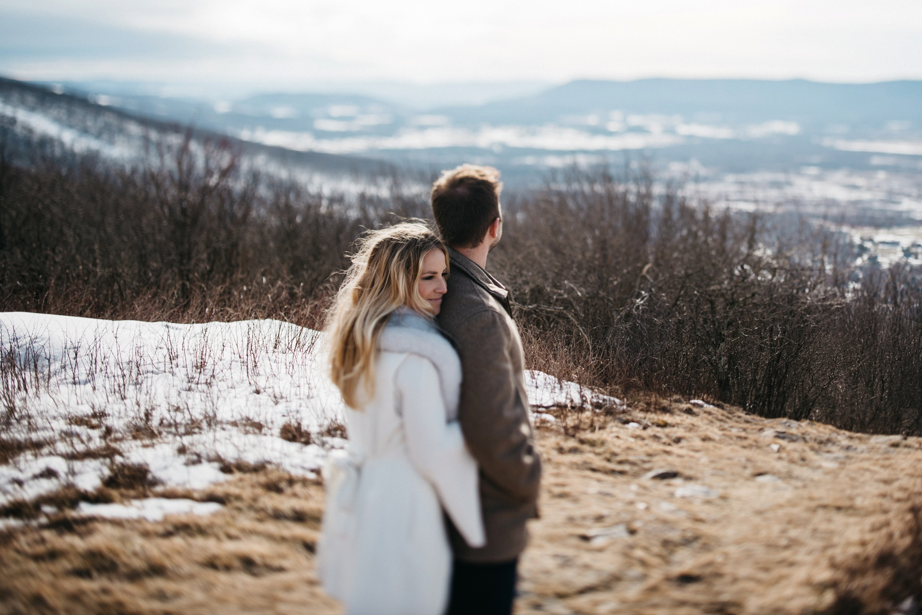 engagement photographers in canaan valley
