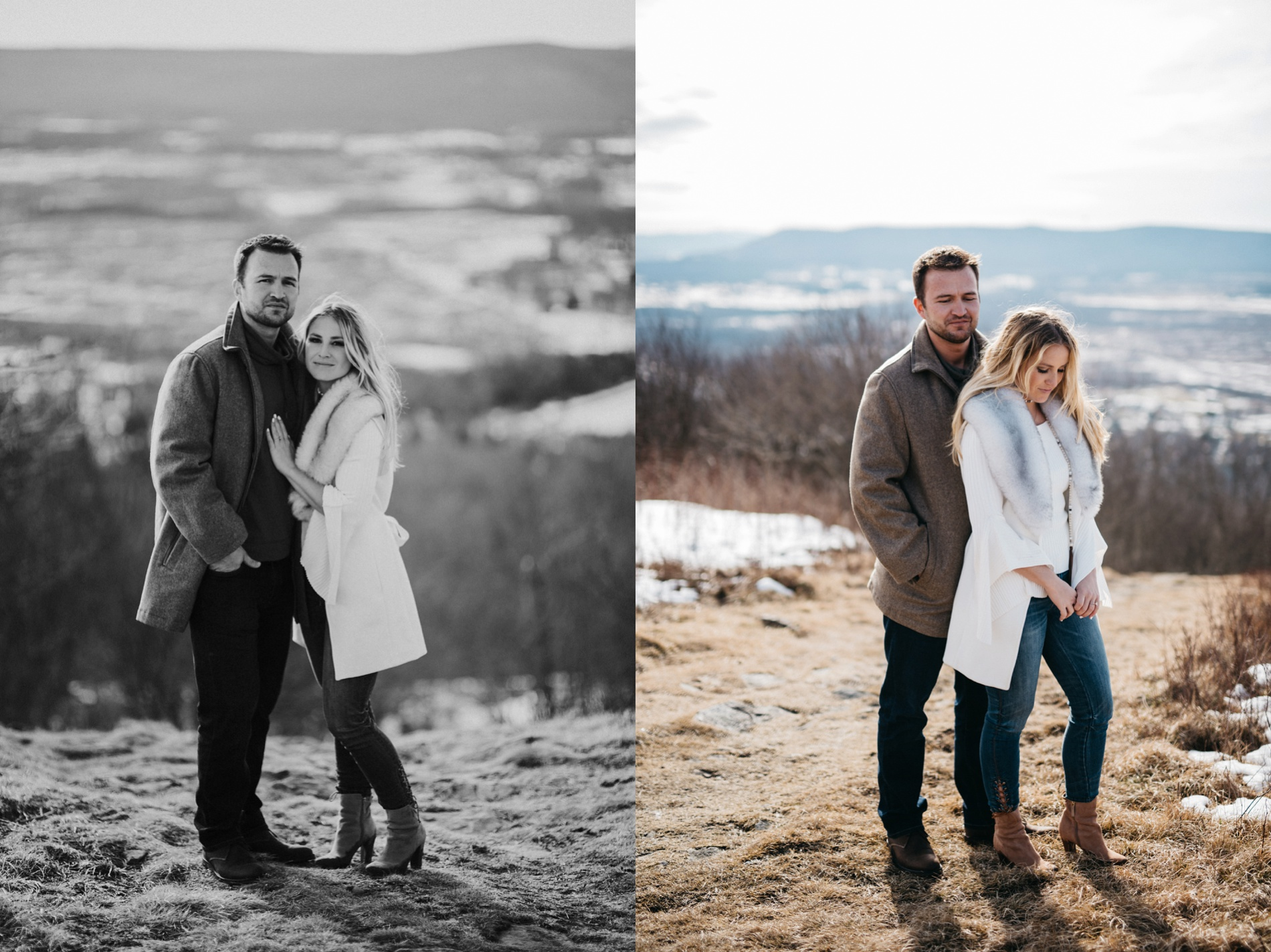 canaan valley engagement portraits