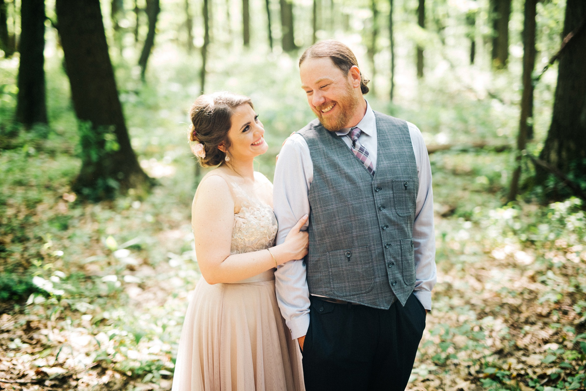 west virginia wedding photographers at coopers rock