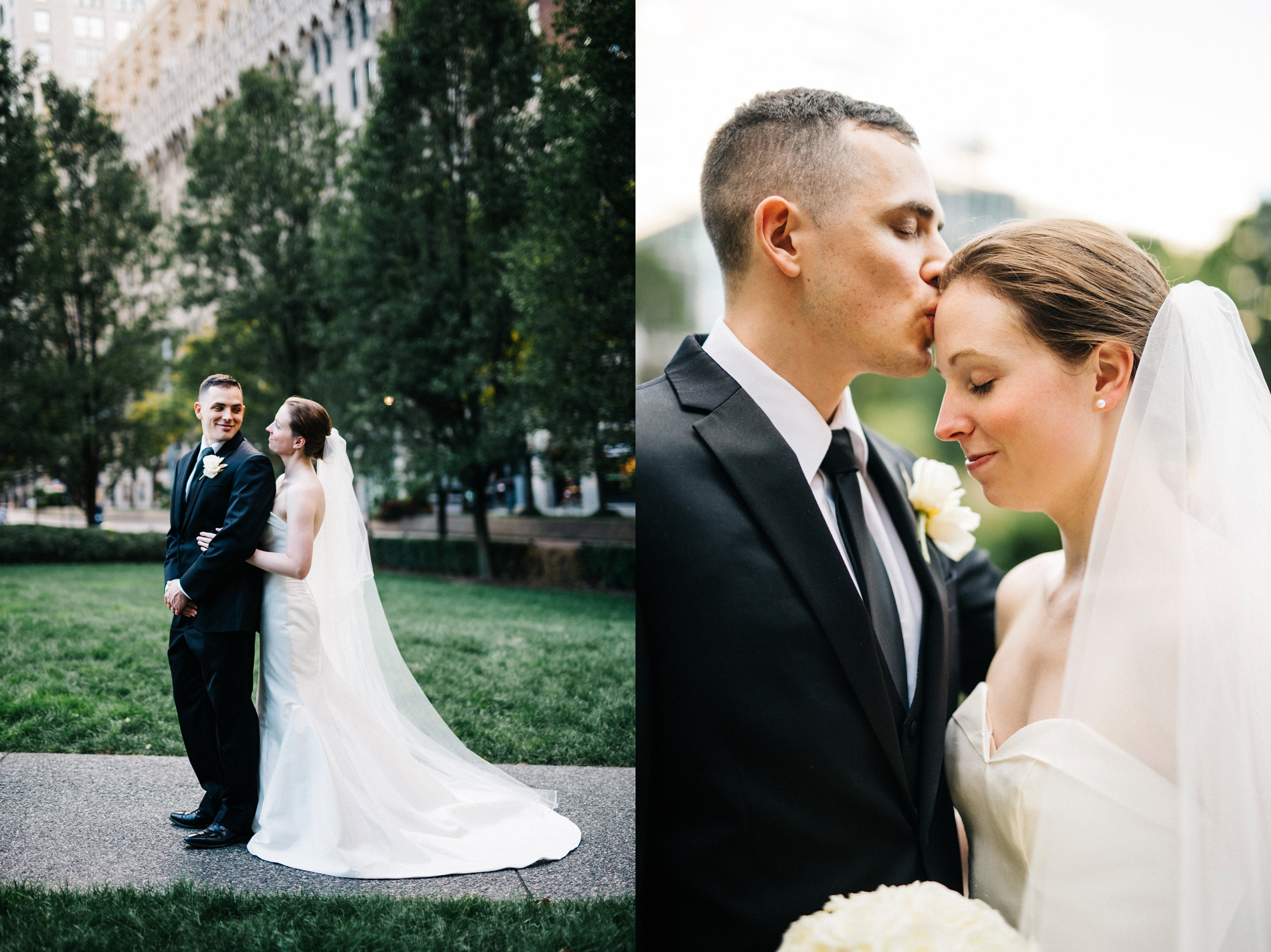 elegant wedding at the omni william penn hotel