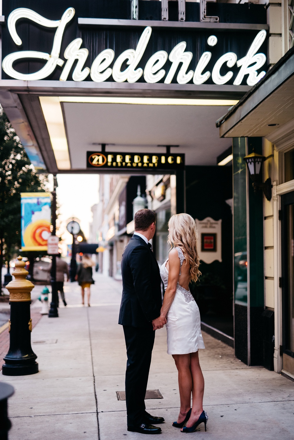 wv wedding at the frederick in huntington