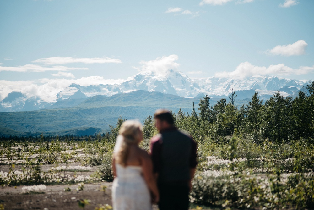 adventure elopement in Alaska