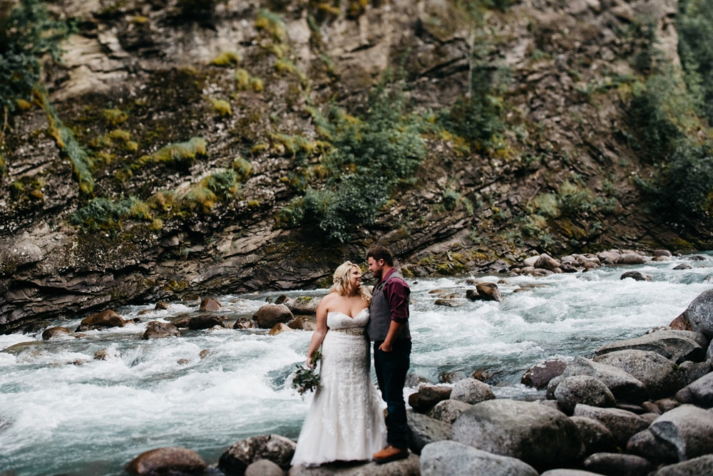 alaska wedding photo