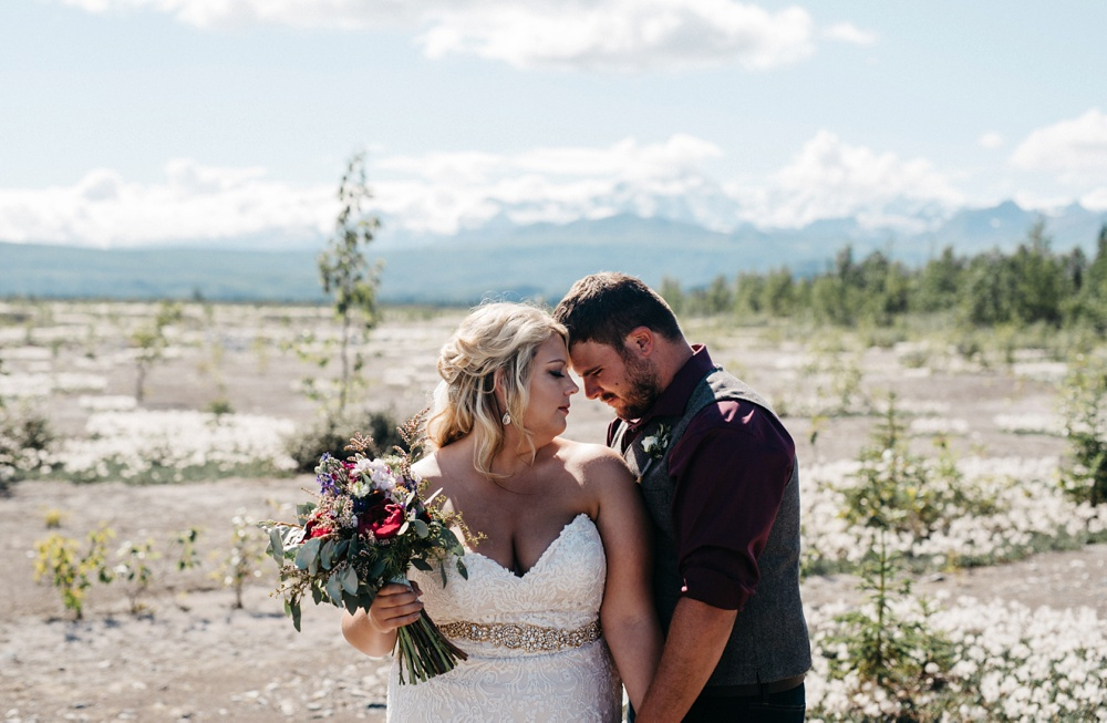 destination elopement in alaska