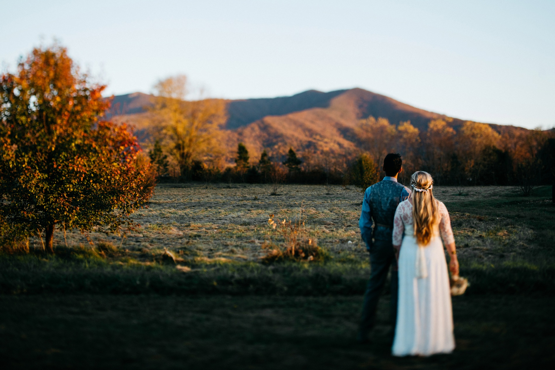 wedding at khimaira farm in luray va