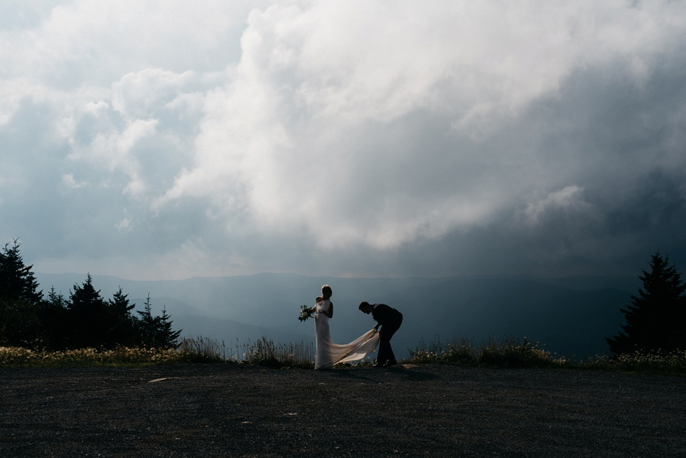 wedding photography snowshoe mountain