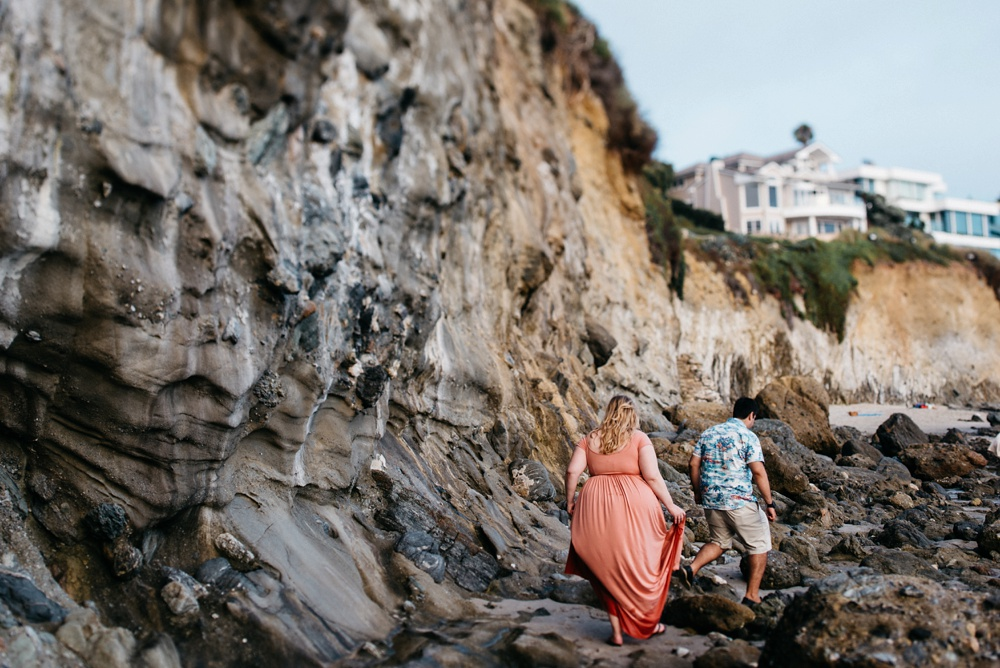engagement photography on laguna beach