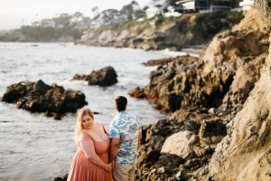engagement photo laguna beach