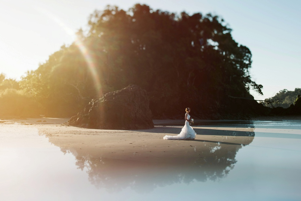 destination wedding photo in costa rica