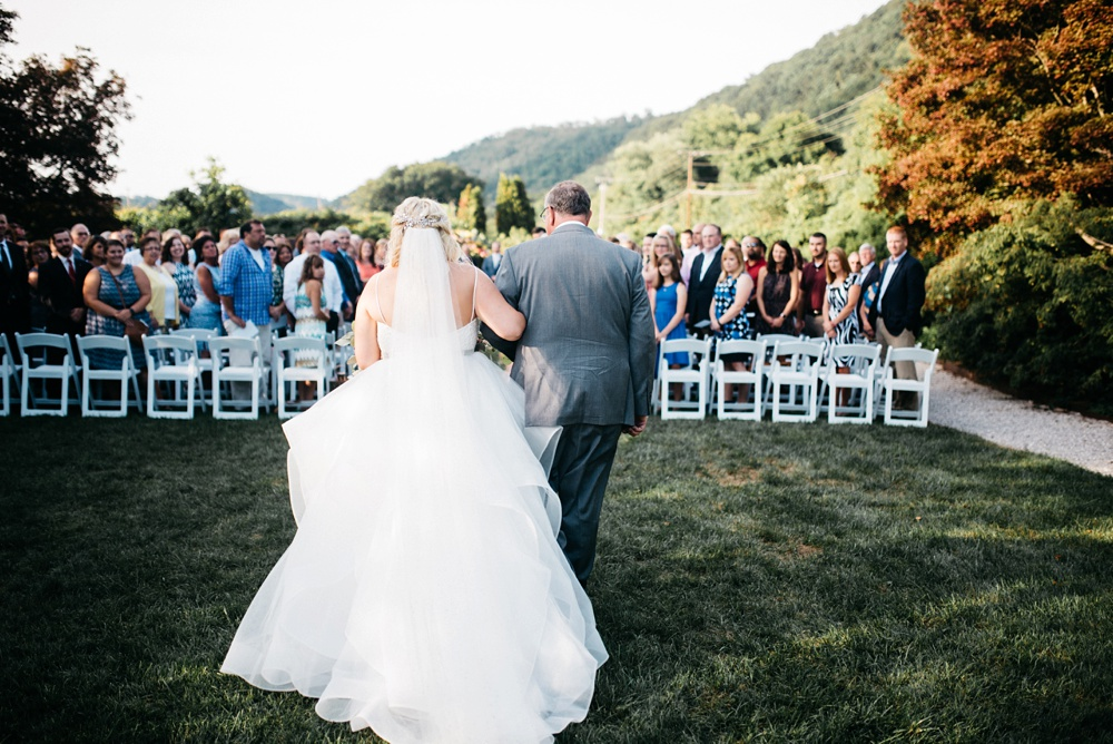 charleston wv wedding at j.q. Dickinson salt works