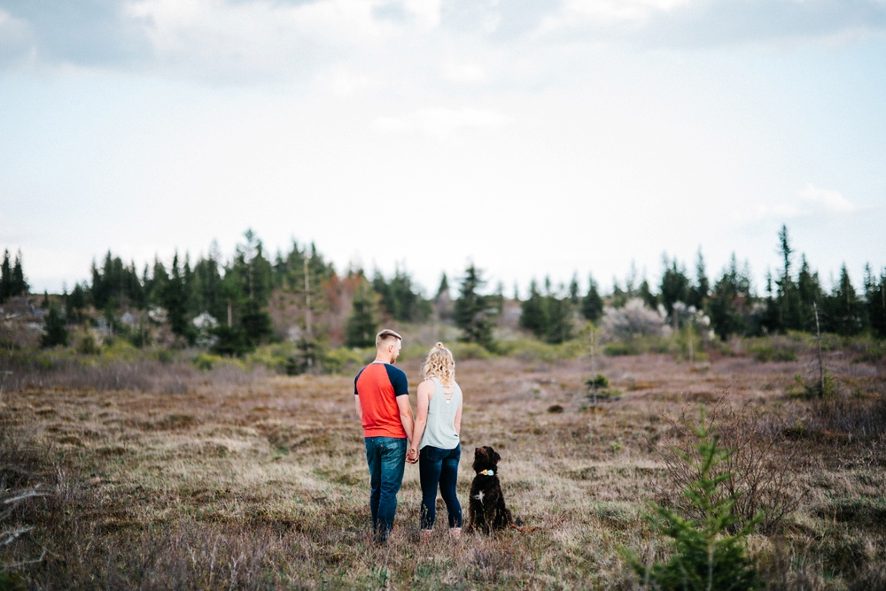 dolly sods engagement photo