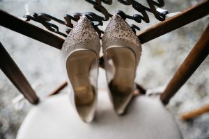 louboutin wedding shoes photo