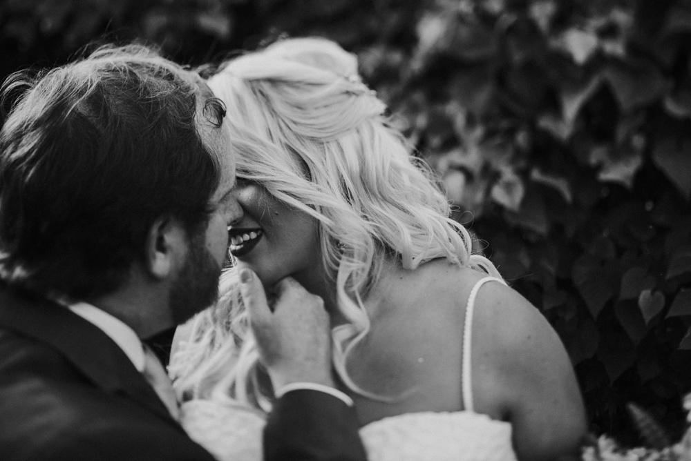 romantic wedding portrait in charleston wv