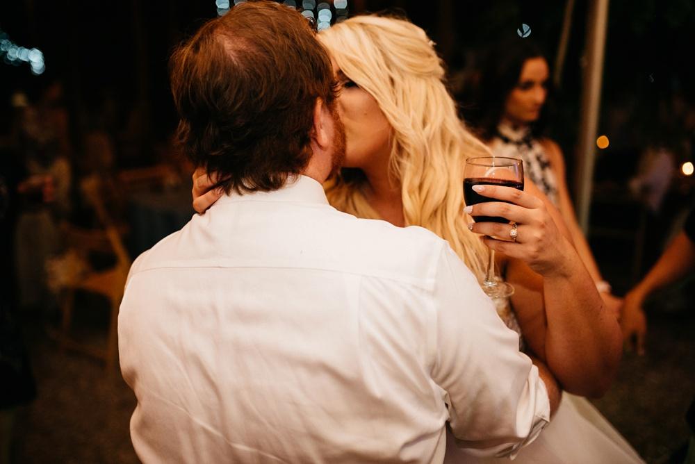 romantic wedding reception photo