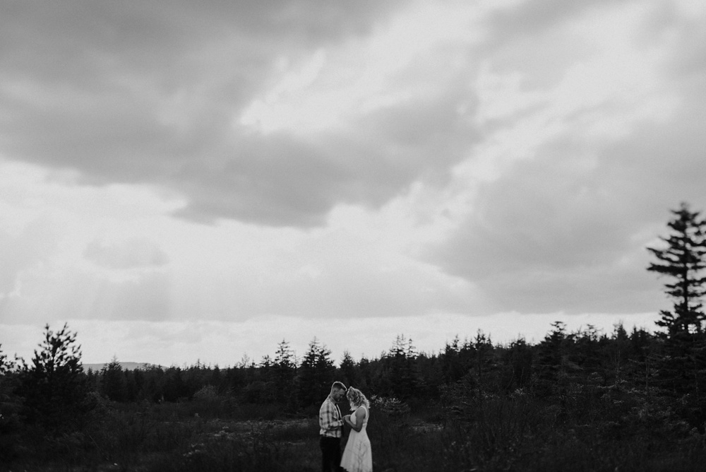 dolly sods engagement photos