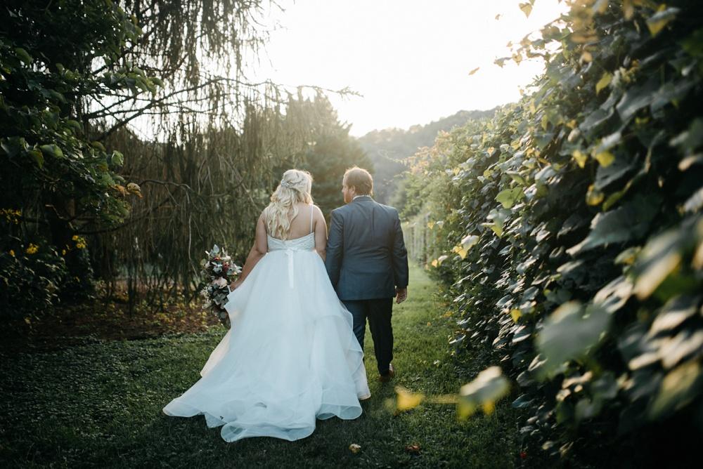wedding portrait in West Virginia
