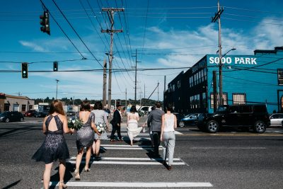 sodo district seattle washington wedding