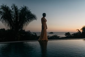 wedding photos at casa fantastica in costa rica