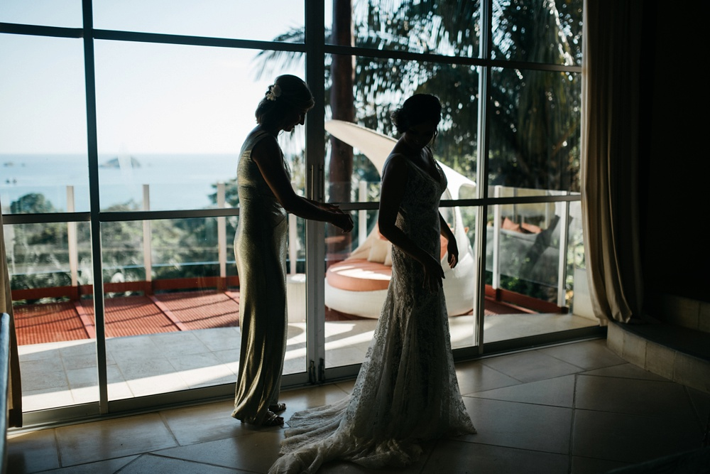 weddings at casa fantastica in costa rica