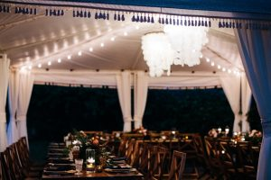 costa rica wedding reception decor photo