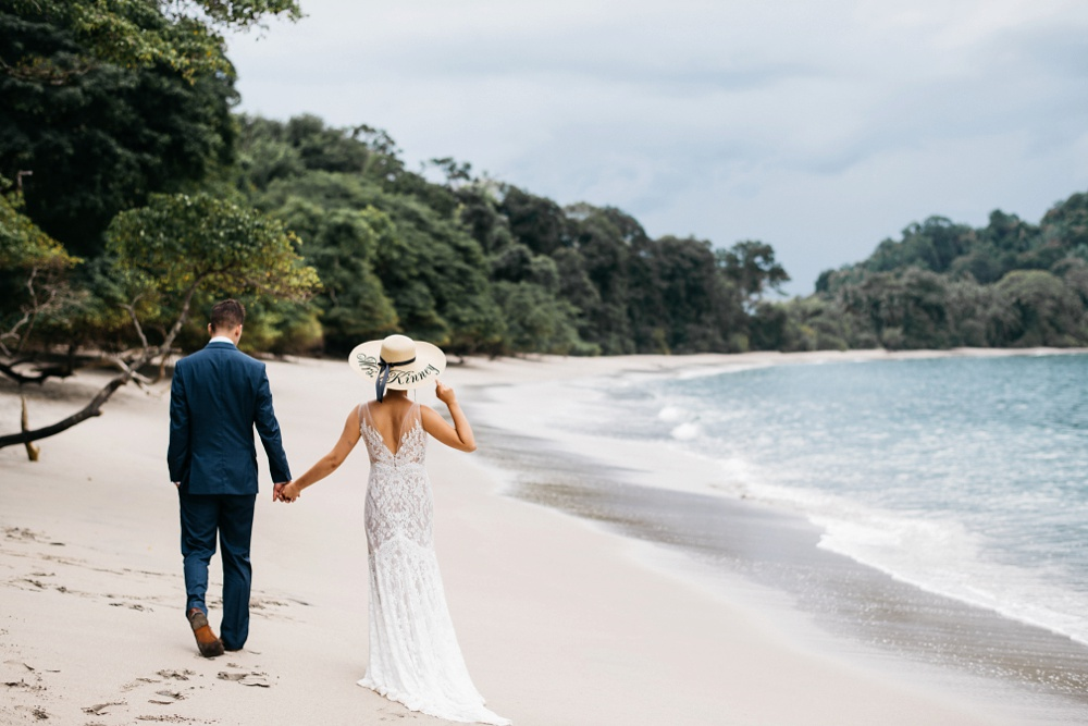 manuel antonio national park wedding photos
