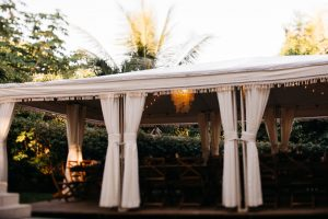 tropical wedding reception at casa fantastica in manuel antonio costa rica