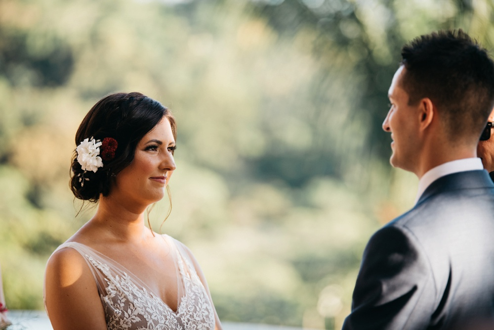 wedding photo from casa fantastica costa rica