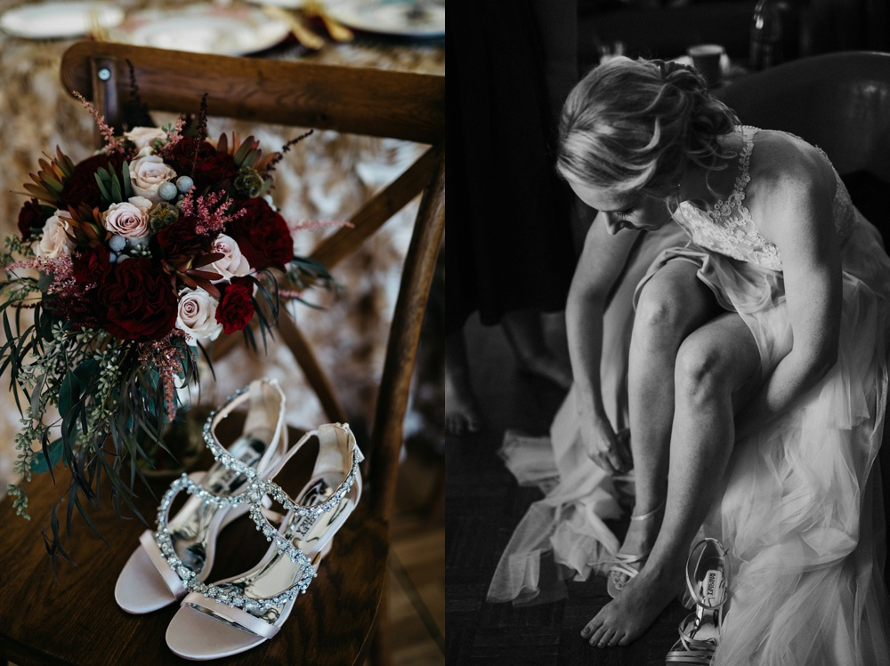 confluence resort wedding day details