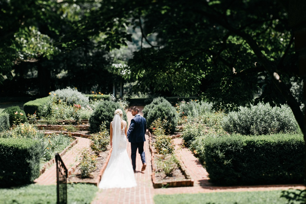 romantic wedding at berry hills country club in charleston, wv