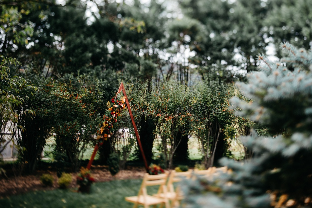 fall wedding in charleston wv