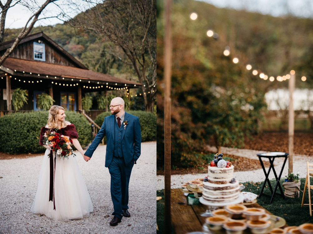 fall wedding at j.q. dickinson salt-works
