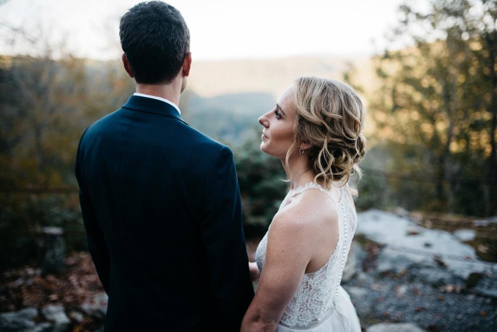 confluence resort wedding in west virginia
