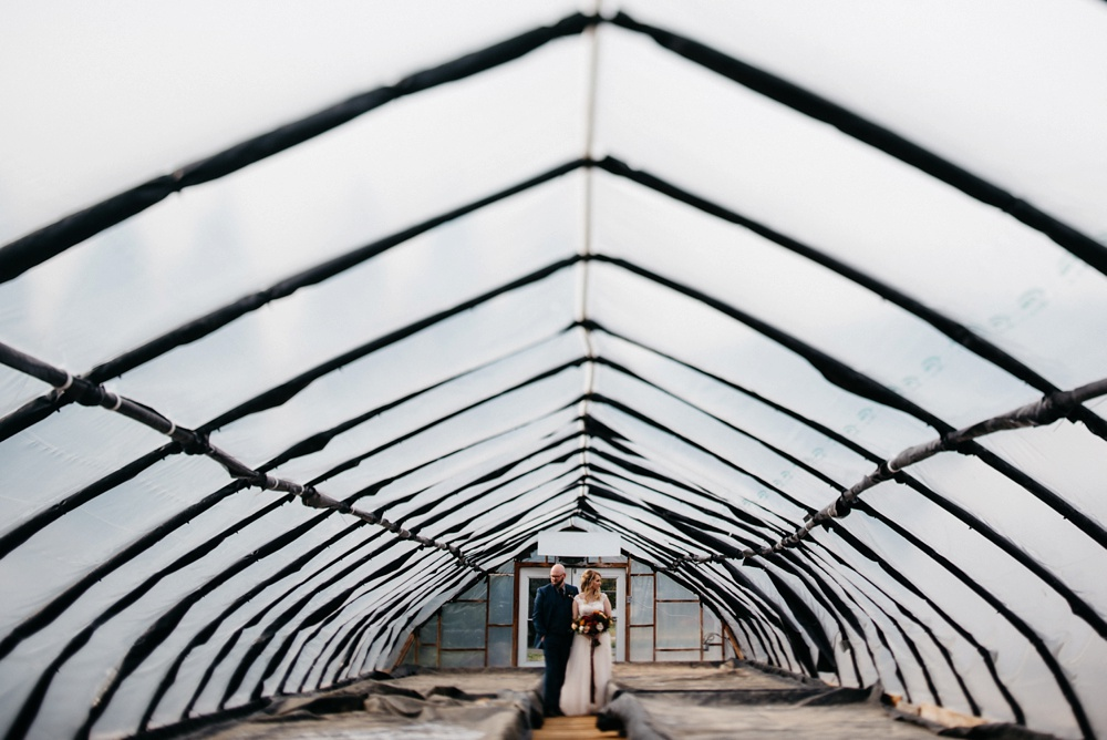 artistic wedding at j.q. dickinson salt works