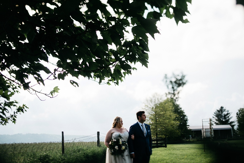 lewisburg wedding at valley view farm