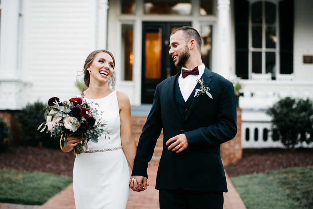 weddings at the merrimon-wynne house in raleigh, nc