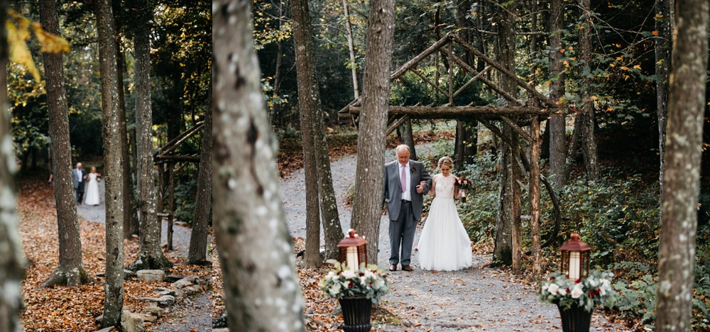 wedding ceremonies at the confluence resort in wv