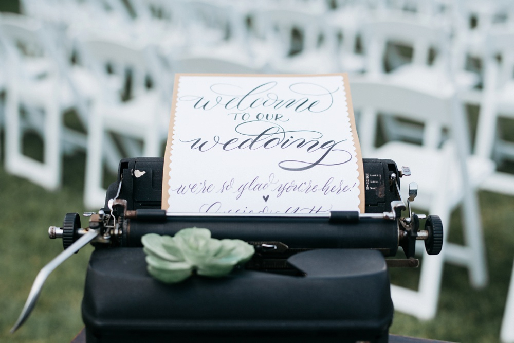 wedding stationery at berry hills country club