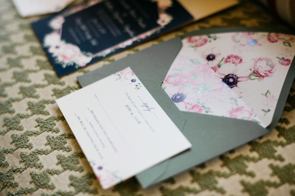 harless printing company wedding stationery