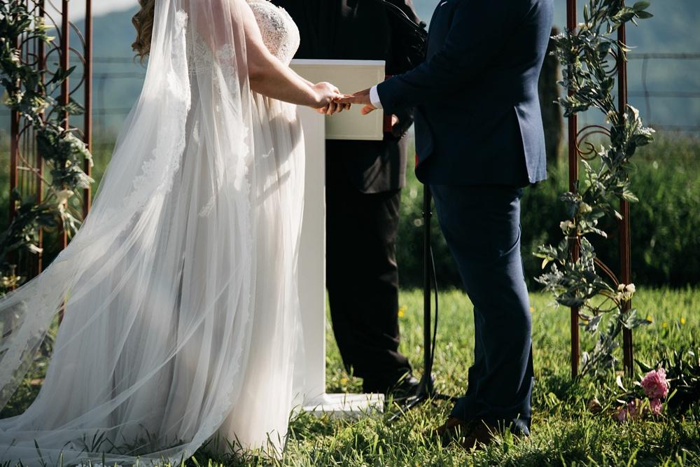 wv wedding at valley view farm