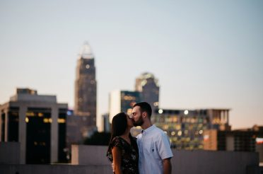 A Downtown Charlotte, NC Engagement Session