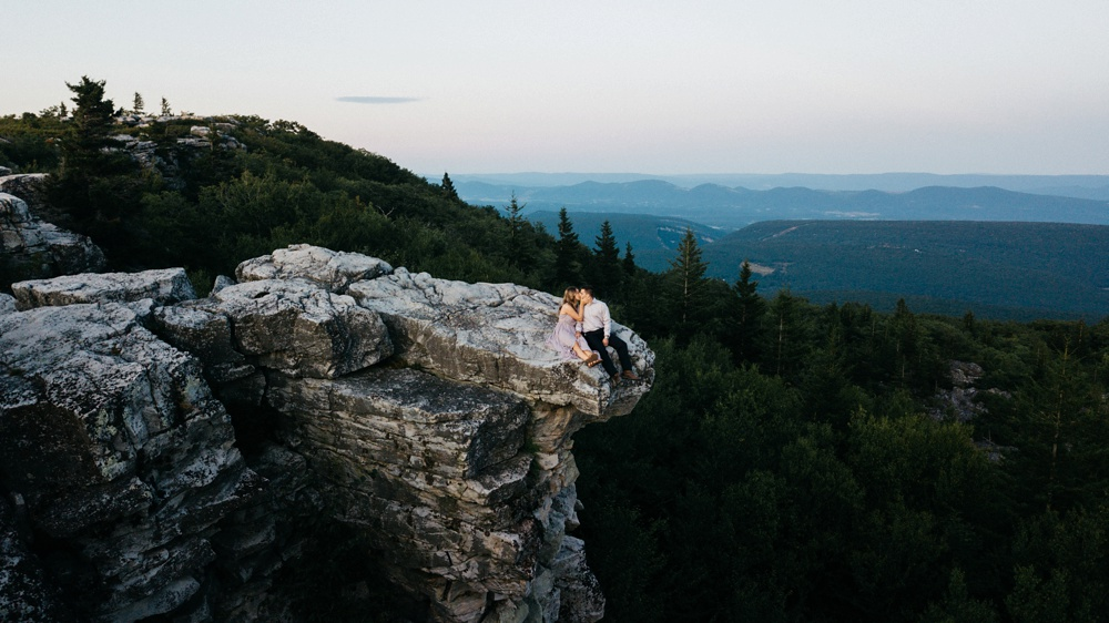 engagement photography dolly sods