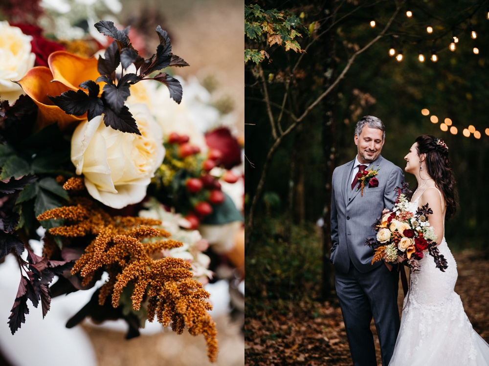 autumn wedding in wv