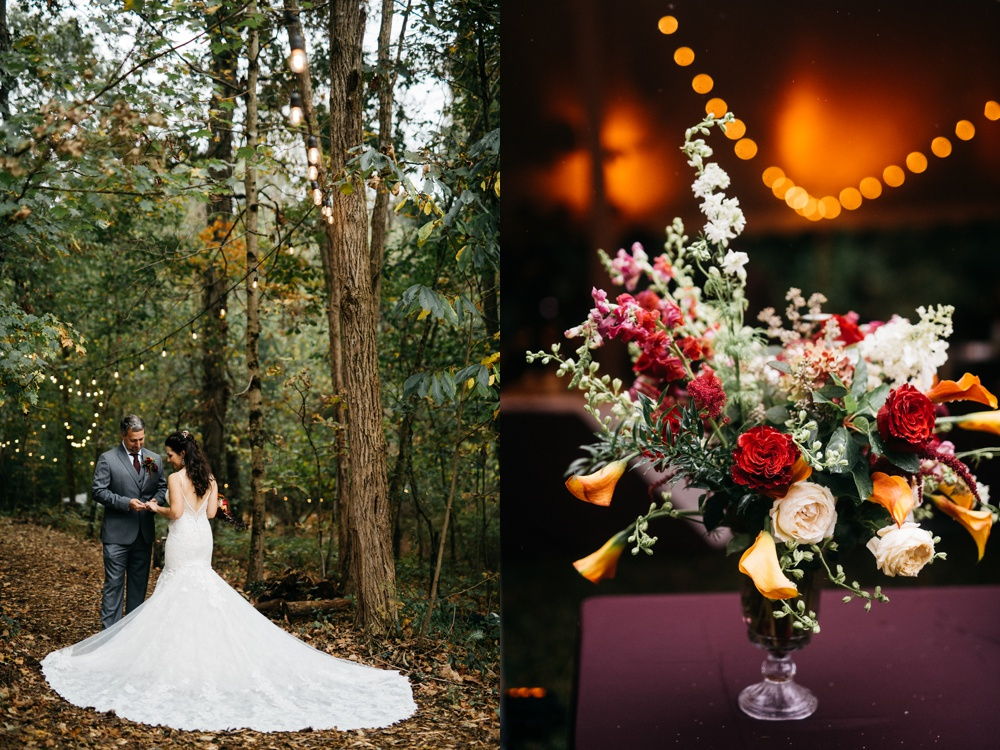 autumn wedding in west virginia