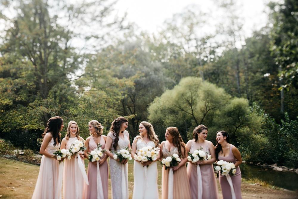 four fillies lodge weddings