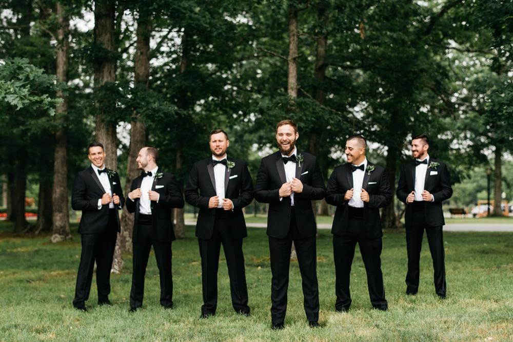 wedding at glade springs resort