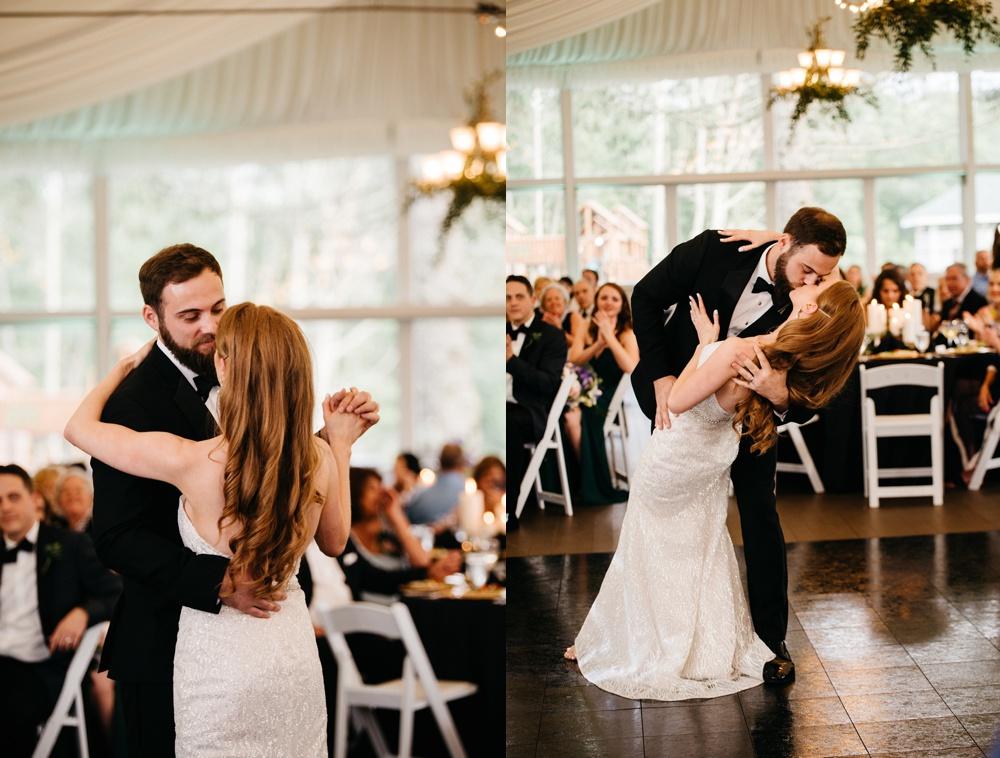 wedding photos taken at glade springs resort