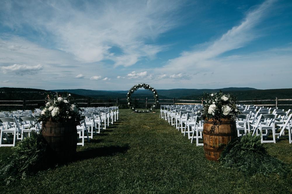 snowshoe resort wedding ceremony location