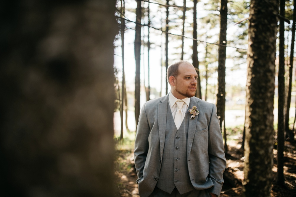 snowshoe resort wedding portrait