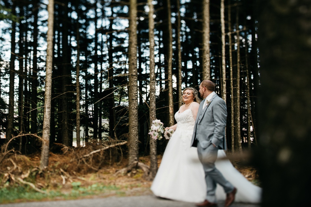 wedding photography taken at snowshoe resort wv