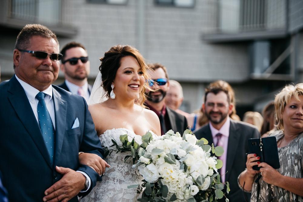 snowshoe resort wedding photos